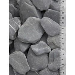 Flat Pebbles zwart...