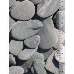 Flat Pebbles groen 30-60 mm