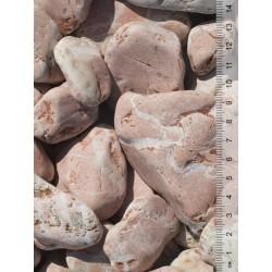 Baskisch rood keien 40-80 mm