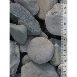 Witte keien 30-60 mm